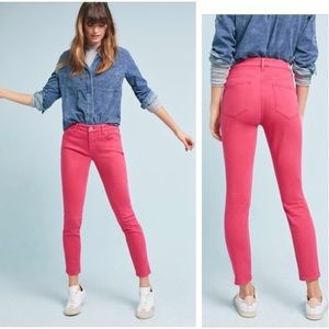 Pilcro and the Letterpress Mid-Rise Skinny Jeans